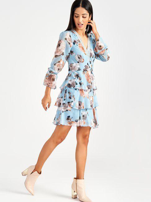 online retailer 55b6b 00109 Abito Corto Stampato a Fiori | Moda Primavera nel 2019 ...