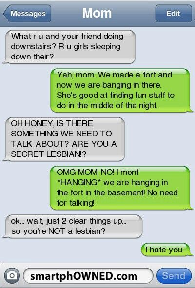 Lesbian Daughterツ #Humor #Funny #Text_Message