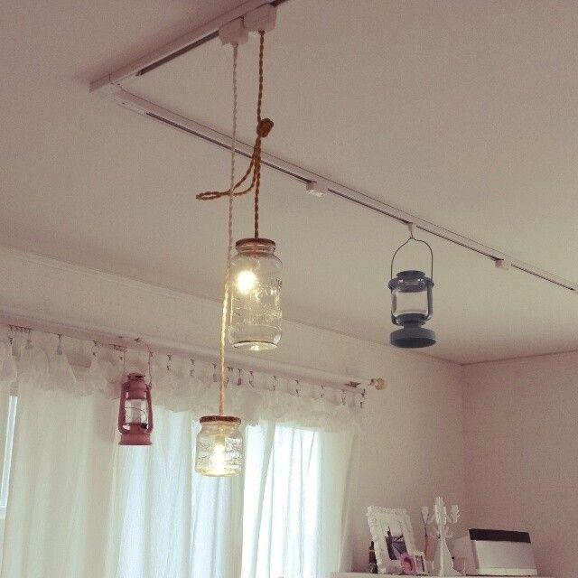 ランプDIY】簡単おしゃれ!ランプの作り方・アイデア特集-カウモ ガラス瓶で作るおしゃれランプ