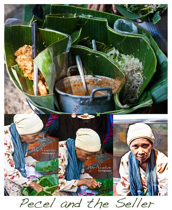 Pecel and The Seller
