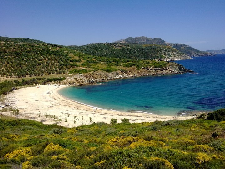 TRAVEL'IN GREECE | Heromylos beach, Evia, #Central_Greece, #Greece, #travelingreece