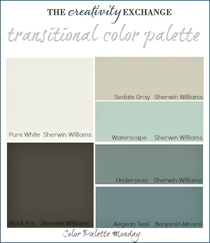 readers favorite paint colors color palette monday - Home Decor Color Palettes