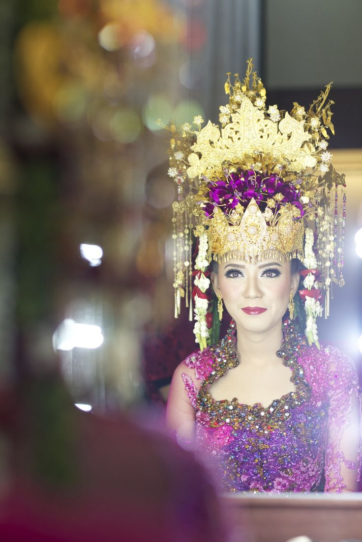 Pernikahan Adat Palembang Diska dan Dika di Jakarta