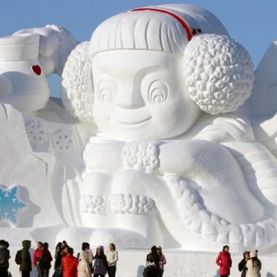 32 Works of Art Created in Snow ...