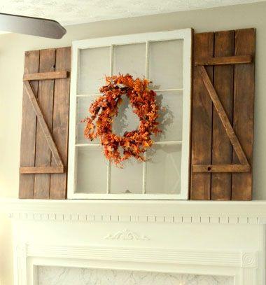 DIY Barn wood shutters - free woodworking plan // Dísz spaletta fából - barkácsolás // Mindy - craft tutorial collection // #crafts #DIY #craftTutorial #tutorial #DIYFurniture