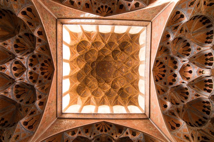 Architecture in Iran is truly something special. The history, the colors, the geometry, everything is thought out to perfection. But what impressed us the most were the ceilings. Every single one of them was a unique masterpiece. And every single one has its stories. We heard that mirrored ceilings, that are a huge part of the art in Iran, were invented by the Persians when mirrors were brought from Europe and they were broken in transportation. Iranians still decided to use the pieces for…
