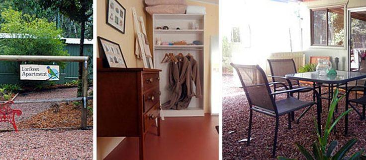 Lorikeet Studio Apartment Ravenshoe Accommodation - Chilverton Cottages -Pet Friendly Accommodation | Atherton Tablelands | Queensland | Australia
