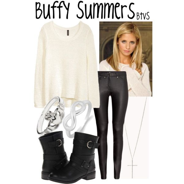 Buffy Summers, created by evil-laugh on Polyvore