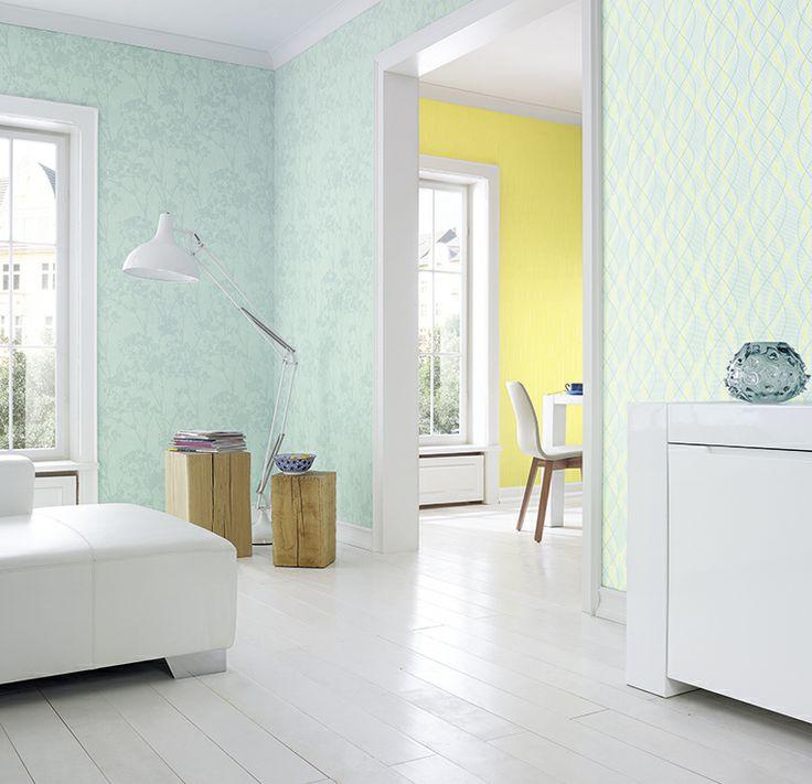 Glossy er en vinyltapetkolleksjon med fiberbakside. www.fantasi.no
