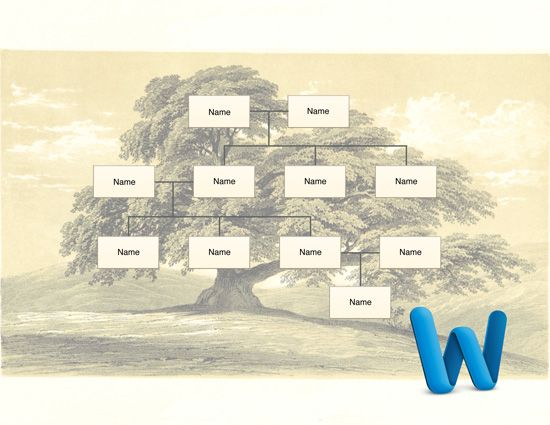 Family Tree Template for Microsoft Word