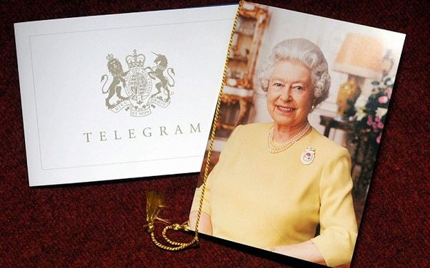 In The Uk If You Reach Your 100th Birthday You Get A Personalized Card From The Queen Queen Birthday Anniversary Cards Birthday Cards