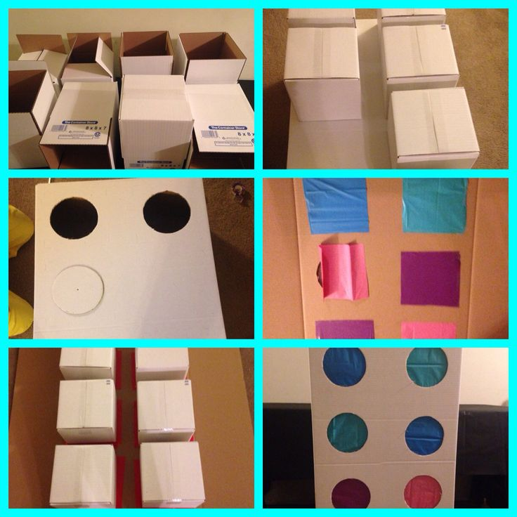 Punch a Gift, Punch a Present , make however many circles or make the number the child will be ! Have a present in each box!