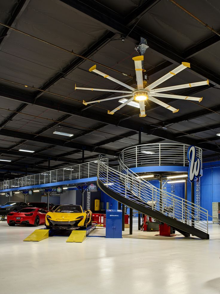 West coast customs installed a 12 ft powerfoil x2 0 and Garage storage mezzanine