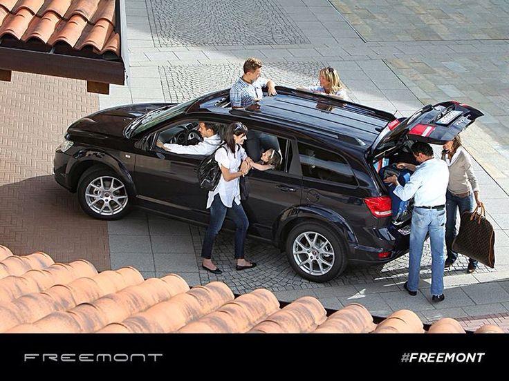 Udany weekend tylko w gronie wielu przyjaciół i z 7-osobowym Fiatem Freemont!  #Fiat #Freemont #wakacje