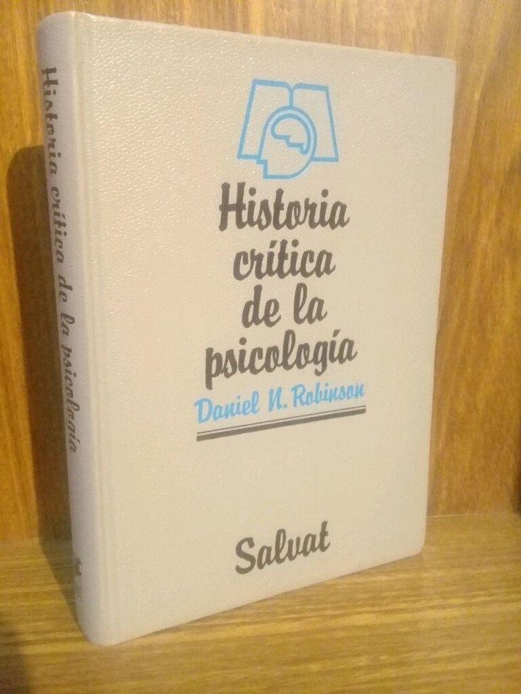 Historia Crítica de la Psicología - Robinson  #HistoriadelaMedicina #Psiquiatria #AZMedica