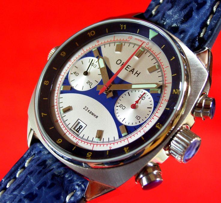 Poljot Volmax Sturmanskie Chronograph Ozean OKEAN OKEAH 3133/1981599 | Poljot 24