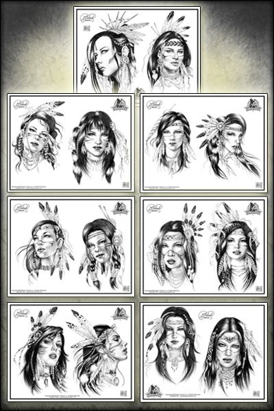 tattoos for women a beautiful pic of an american indian woman | tags american indian tattoos native american tattoos - (640x439 - 60kB ...