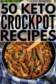 Ketogenes Kochen: 50 Crockpot-Keto-Diät-Rezepte zur Gewichtsreduktion