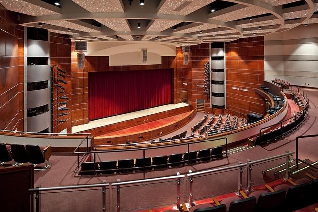 Moon Area High School Auditorium, via Flickr.