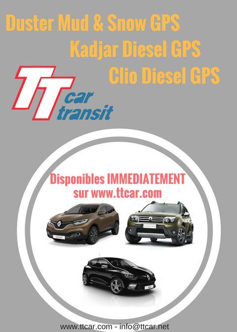 Nouvelles disponibilités #Eurodrive #Renault #Dacia #ttcar #ttcartransit #expat #expatlife http://bit.ly/2gx2p2D