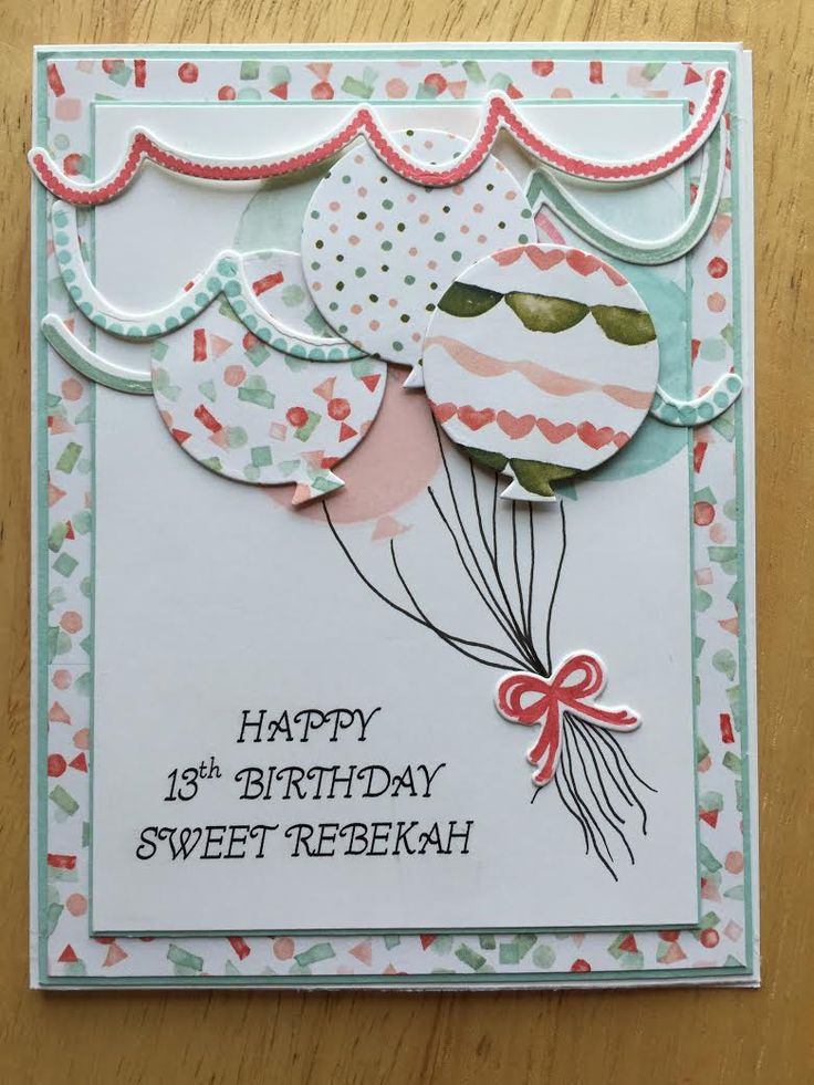 2016--combined PTI Birthday Style stamps and dies with Stampin Up Birthday Bouquet dsp & inks. Used SU's honeycomb embellishment inside the card to pop-up when opened.
