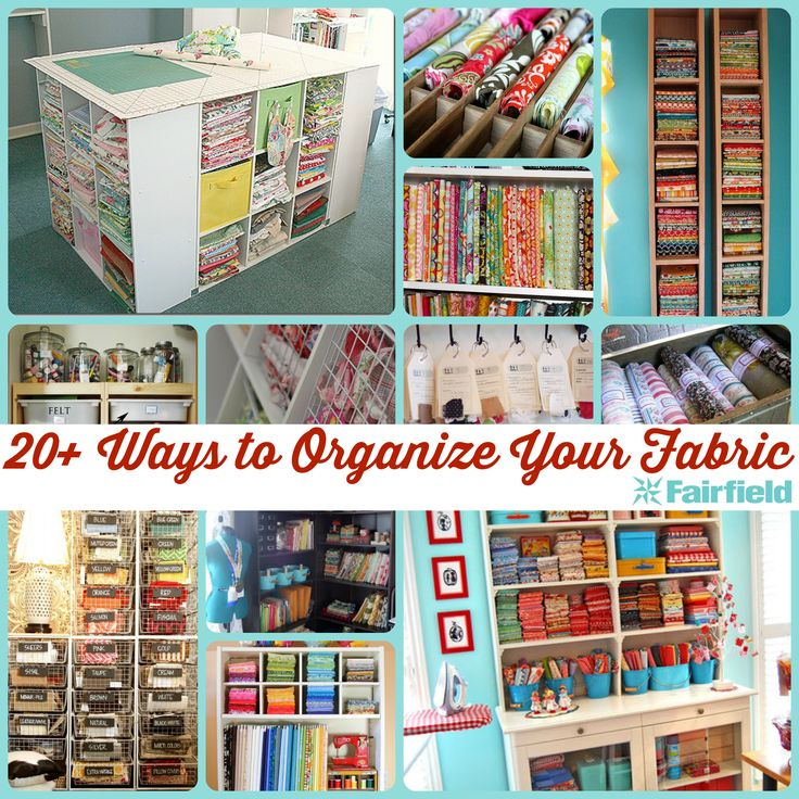 Fabric Organization Presented by Fairfield World