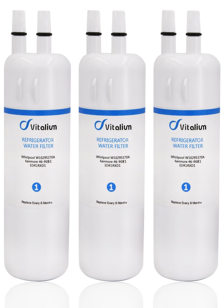 W10295370 W10295370A Refrigerator Water Filter EDR1RXD1, Replacement for Pur Water Filter W10295370A Kenmore 46-9081 Kenmore 46-9930 P4RFWB(3 Pack)