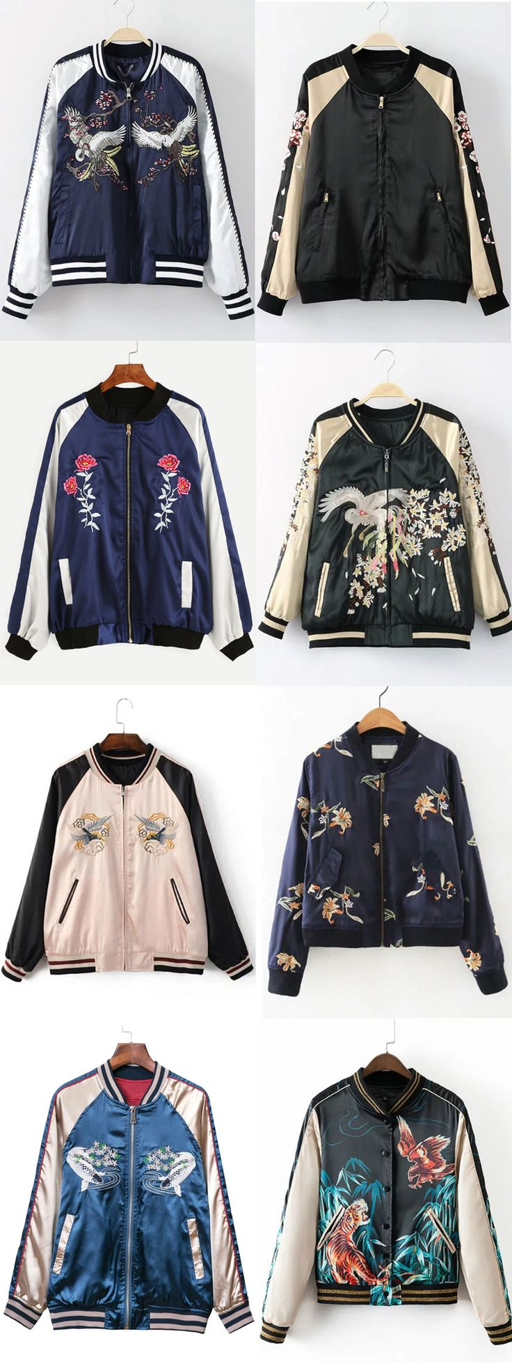 Fall in love with these Embroidered Jackets - rowem.com