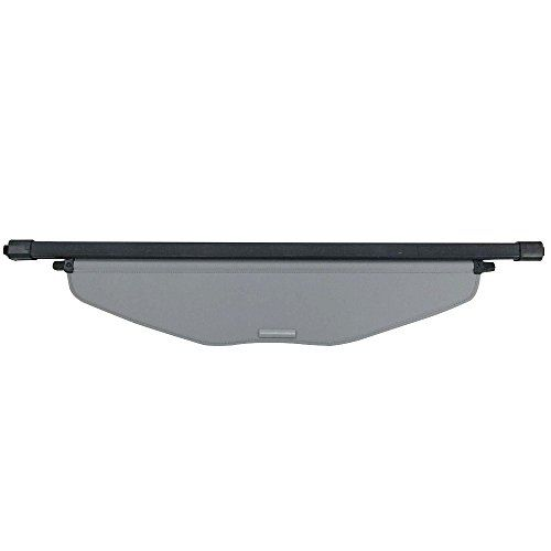 Kongka Cargo cover for 14-17 Nissan Rogue SV Gray Retractable Trunk Shielding Shade (not fit for Nissan Rogue Select)