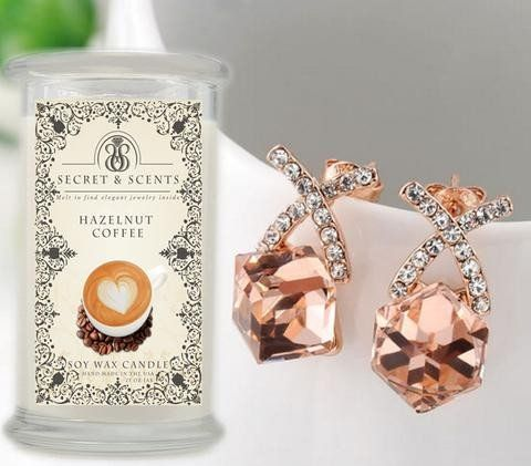 Have your cup of coffee and see if you will find these beautiful peach crystal stone drop earrings, that will look good with any outfit. These earrings will add class and elegance for any occasion. Take a look at the Cafe and Latte collections, and buy yours today,  see if you will find this treasure! Remember to use code 007Rosie74 and get 10% off the retail price. Hurry, buy yours today!