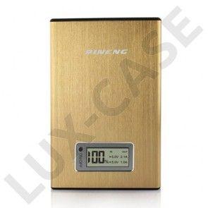 Pineng (Guld) 11200mAh Dual USB Power Bank til Smartphones