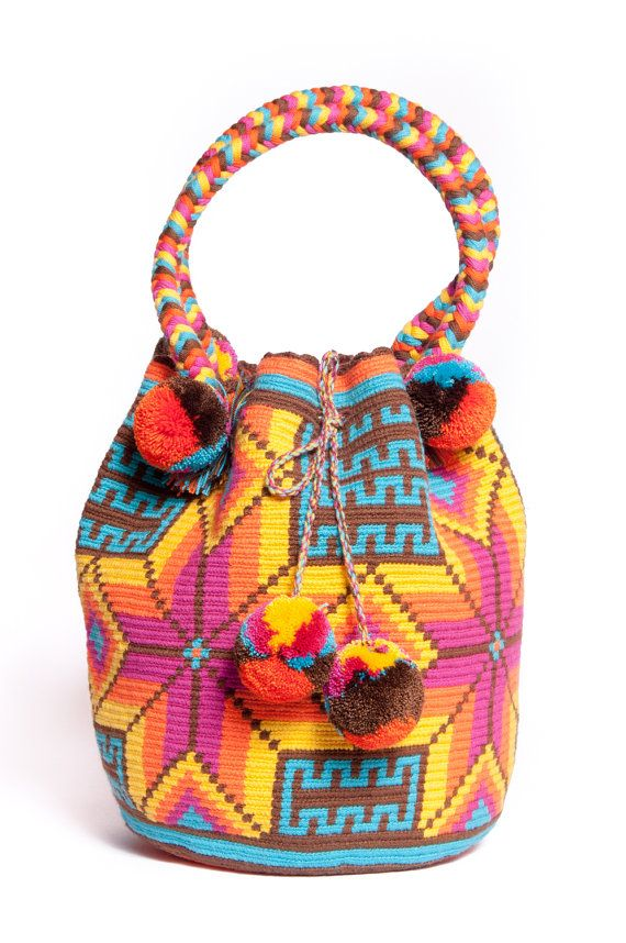 MOCHILA NAVAJO Hand made one of a kind bags as seen on by 75Moons