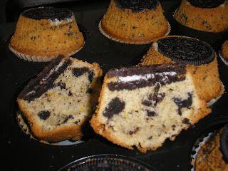 Zsuzsa ízutazásai.: Oreo muffin.
