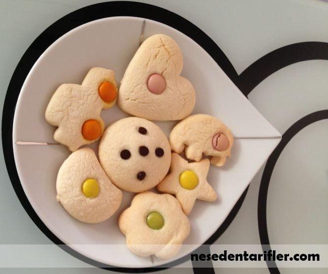 Bonibonlu Şekilli Kurabiye / Shaped Candy Cookie