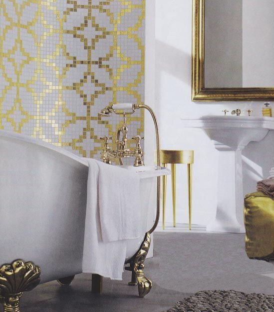 Living Etc - March 2012, Global Chic Bathrooms, design ideas.