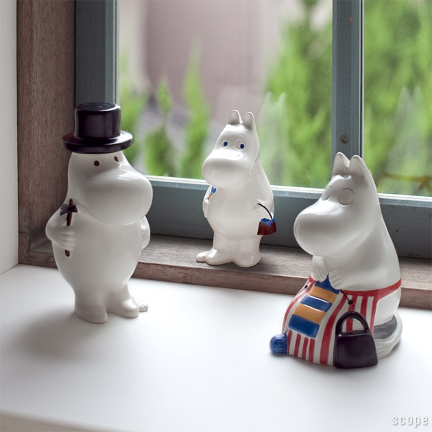 ❤ moomin family