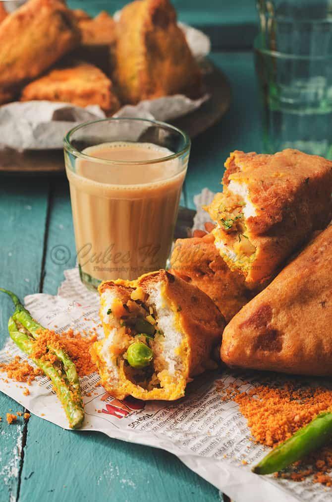 Mixed Vegetable Paneer Bread Pakoda | Bread pakora, Indian ...