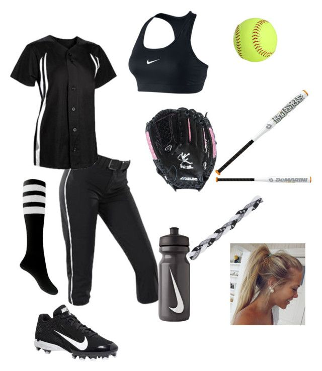 """Softball"" by teenage-dream0 on Polyvore"