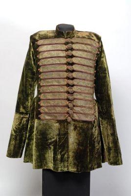 Mente (overcoat) - from the wardrobe of István Esterházy 1640: silver-gilt thread, cut-pile velvet, silk yarn