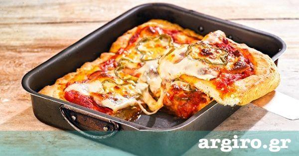 Πίτσα για παιδιά από την Αργυρώ Μπαρμπαρίγου   Μια εύκολη συνταγή για πίτσα του λεπτού που αγαπούν τα παιδιά! Προσθέστε τη και στο μενού για παιδικό πάρτυ
