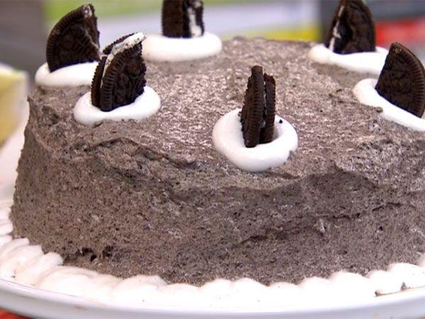 Chokladtårta med oreomousse | Recept från Köket.se