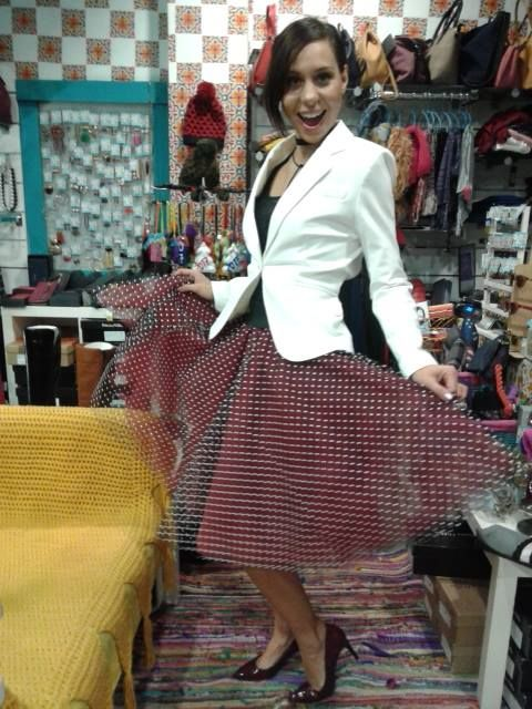 tutu Joanna Misseli + suit jacket Eleria Cortes + high heels leather Patricia Miller  by Papa k' Froufrou *ready to glow*