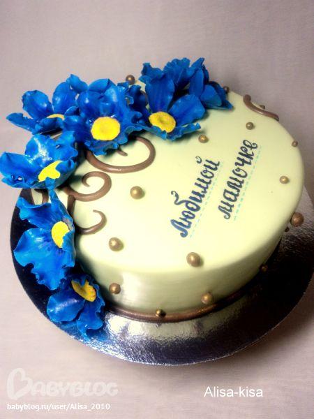 Торт маме к 8 марта