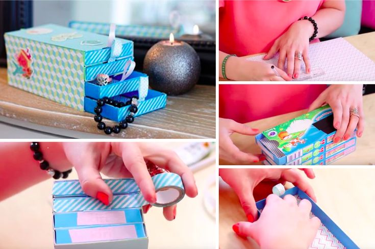 Comment fabriquer une bo te bijoux avec de la r cup - Comment fabriquer une boite a bijoux en bois ...