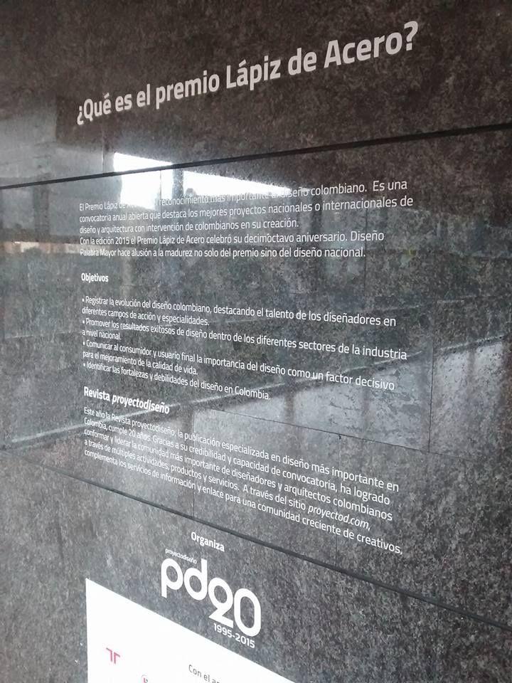 Exposición: Diseño Palabra Mayor. Ganadores del XVIII Lápiz de Acero. Lápiz de Acero Verde 2015: BT - Bloque Termodisipador.