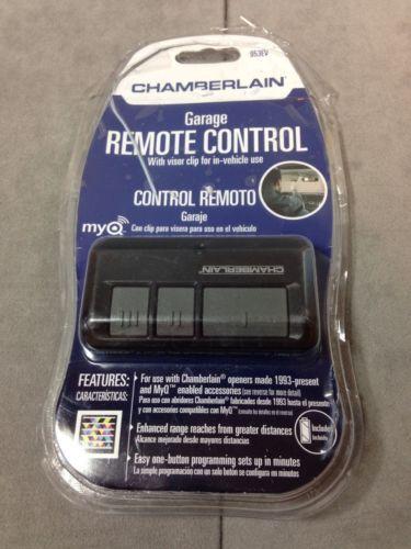 chamberlain garage remote control 953ev in packaging with clip universal chamberlain garage doorgarage