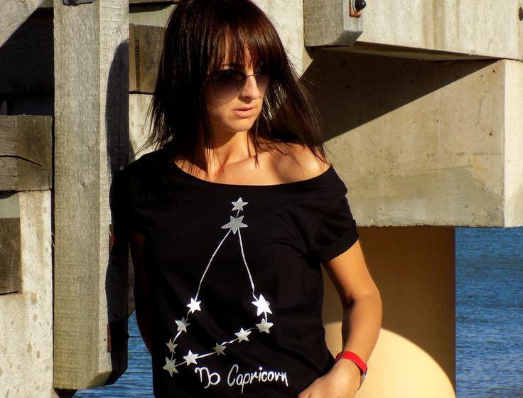 ZODIAK konstelacja KOZIOROŻCA - WYBIERZ SWÓJ ZNAK - AK-Creativo - Koszulki z nadrukiem