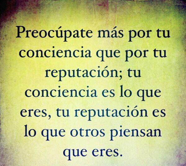 #Conciencia #Limpia