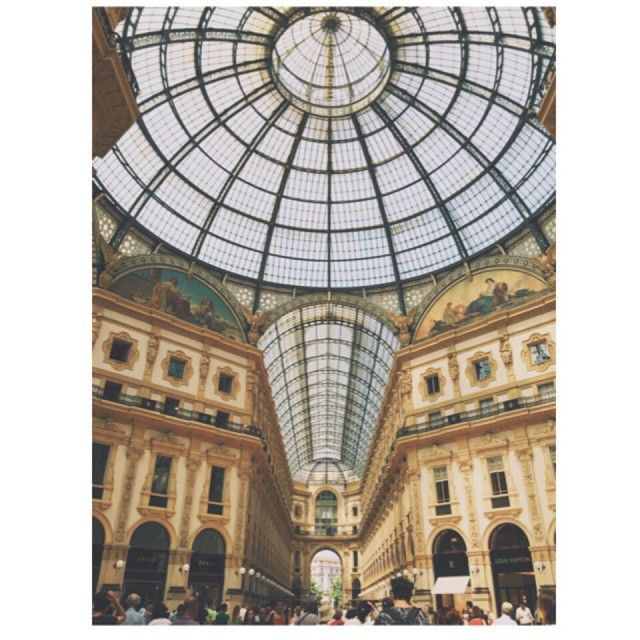 Galleria Vittoro Emanuele II #Milano #gallery #Milan #Italy #art #architecture #eclectic #landmark #arcade #glass #dome #perspective #galleria #LuogoStorico #eclettico #arte #italia #architettura #cupola #volte #vetro #prospettiva #VSCOcam #Vsco #A1