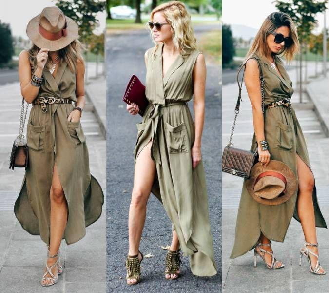 Платье-халат: must-have в вашем гардеробе   Платья в 2019 г ...